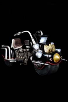 2000 AD Fahrzeug und Leuchtfunktion 1/12 Judge Dredds Lawmaster MK1 24 cm