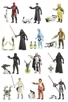 Star Wars Actionfiguren 10 cm 2015 Jungle/Space Wave 2 Revision 2 Sortiment