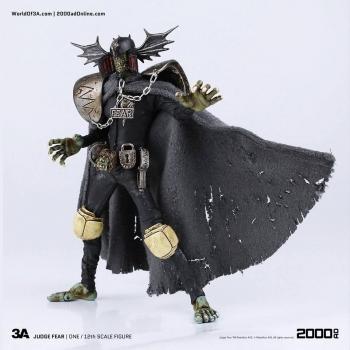 2000 AD Actionfigur 1/12 Judge Fear 17 cm