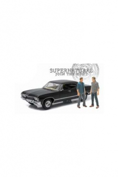 Supernatural Diecast Modell 1/18 1967 Chevrolet Impala Sport Sedan mit 2 Figuren