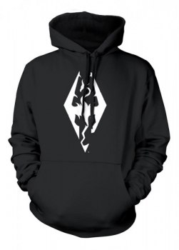 The Elder Scrolls V: Skyrim Hoodie Dragon Symbol