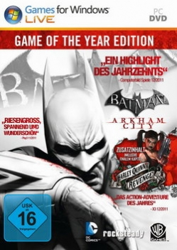 Batman Arkham City Game of the Year - PC - Actionspiel