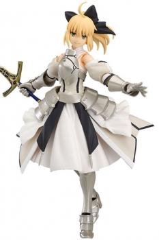Fate/Grand Order Figma Actionfigur Saber/Altria Pendragon Lily 14 cm