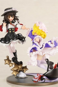 ZUNs Music Collection Statue Secret Sealing Club Renko Usami & Maribel Hearn Limited Color 13 cm