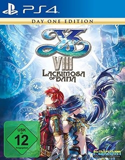 Ys VIII: Lacrimosa of DANA  D1 Edition - Playstation 4