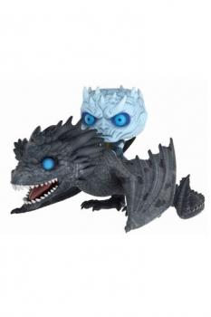 Game of Thrones POP! Rides Vinyl Figur Night King & Viserion 15 cm