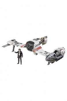 Star Wars Episode VIII Force Link Class C Fahrzeug mit Figur 2017 Resistance Ski Speeder