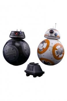 Star Wars Episode VIII Movie Masterpiece Actionfiguren Doppelpack 1/6 BB-8 & BB-9E 11 cm