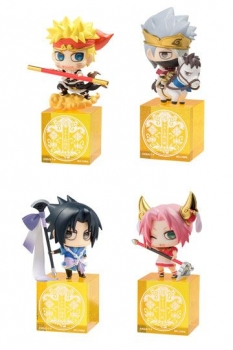 Naruto Shippuden Petit Chara Land Sammelfiguren 4er-Pack Saiyuki Series 5 cm