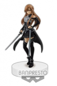 Sword Art Online Ordinal Scale Figur Asuna Kirito Color Ver. 17 cm