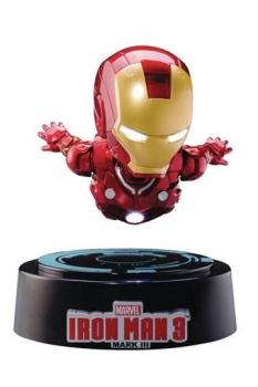 Iron Man 3 Egg Attack Schwebe-Modell mit Leuchtfunktion Iron Man Mark III 16 cm