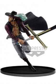 One Piece BWFC Vol. 3 Figur Dracule Mihawk by Stephan Anderson 17 cm
