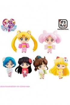 Sailor Moon Petit Chara Sammelfiguren 6er-Pack Cherry Blossom Festival Ver. 6 cm