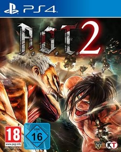 AoT 2 (based on Attack on Titan)  - Playstation 4 - 20.03.18