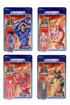 Masters of the Universe ReAction Actionfiguren 10 cm Wave 1 Sortiment