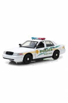 CSI Miami Diecast Modell 1/18 2003 Ford Crown Victoria Police Interceptor
