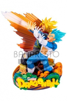 Dragonball Super Super Master Stars Piece Figur Vegeta & Trunks 20 cm