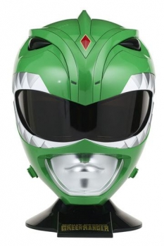 Power Rangers Legacy Cosplay Replik 1/1 Green Ranger Helm 36 cm