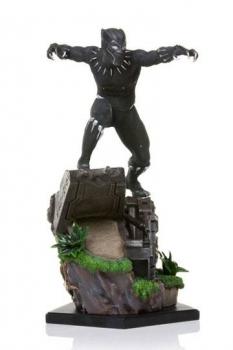 Black Panther Battle Diorama Series Statue 1/10 Black Panther 26 cm