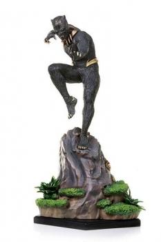 Black Panther Battle Diorama Series Statue 1/10 Killmonger 27 cm
