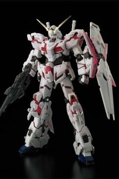 Mobile Suit Gundam Unicorn Plastic Model Kit 1/144 Unicorn Gundam 17 cm