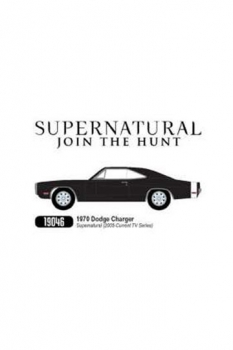 Supernatural Diecast Modell 1/18 1970 Dodge Charger