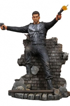 Punisher TV Series Marvel Gallery PVC Statue Punisher Version 2 23 cm