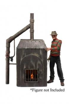Nightmare on Elm Street Diorama Freddys Ofen 23 cm
