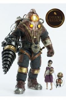 BioShock Actionfiguren Doppelpack 1/6 Subject Delta & Little Sister Deluxe Version 33 cm