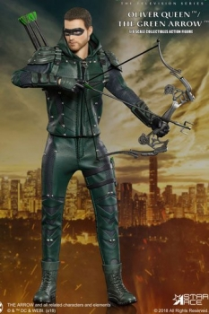 Arrow Real Master Series Actionfigur 1/8 Green Arrow Deluxe Version 23 cm