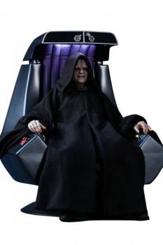 Star Wars Episode VI Movie Masterpiece Actionfigur 1/6 Emperor Palpatine Deluxe Version 29 cm