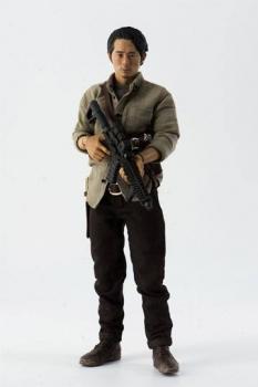 The Walking Dead Actionfigur 1/6 Glenn Rhee 29 cm
