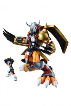 Digimon Adventure G.E.M. Serie PVC Statue Wargreymon & Tai 25 cm