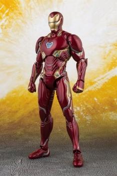 Avengers Infinity War S.H. Figuarts Actionfigur Iron Man MK 50 & Tamashii Stage 16 cm