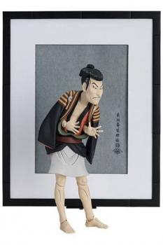 The Table Museum Figma Actionfigur Otani Oniji III as Yakko Edobei by Sharaku 17 cm