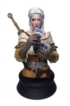 Witcher 3 Wild Hunt Büste Ciri Playing Gwent 20 cm