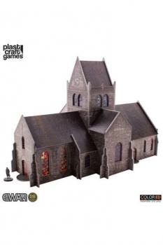 EWAR WWII ColorED Tabletop-Bausatz 28 mm Saint-Mère-Église