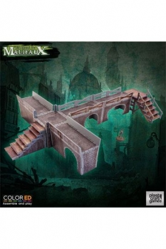 Malifaux ColorED Tabletop-Bausatz 32 mm Sewers Walkway Set
