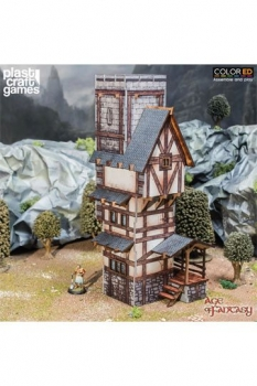 Age of Fantasy ColorED Tabletop-Bausatz 28 mm Scholars Tower