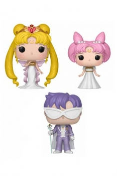 Sailor Moon POP! Animation Vinyl Figuren 3-er-Pack Serenity, Small Lady & Endymion 9 cm