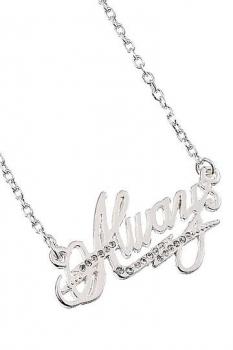Harry Potter x Swarovksi Halskette & Anhänger Always