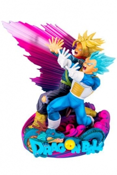Dragonball Super Super Master Stars Piece Figur Vegeta & Trunks Special Color Version 18 cm