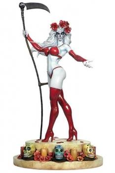 Lady Death Statue La Muerta 36 cm