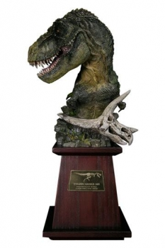 Paleontology World Museum Collection Series Büste Tyrannosaurus Rex Green Ver. 40 cm