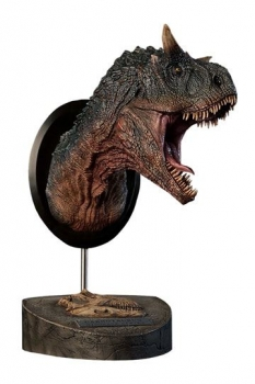 Paleontology World Museum Collection Series Büste Carnotaurus Green Ver. 24 cm