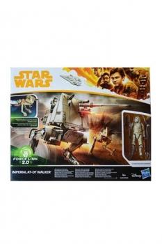 Star Wars Solo Force Link 2.0 Class B Fahrzeug mit Figur 2018 Imperial AT-DT Walker