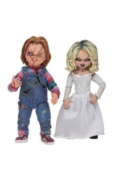 Chucky und seine Braut Ultimate Actionfiguren Doppelpack Chucky & Tiffany 10 cm