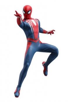 Marvels Spider-Man Videogame Masterpiece Actionfigur 1/6 Spider-Man Advanced Suit 30 cm