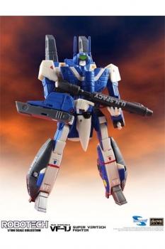 Robotech Super Veritech Fighter Collection Actionfigur 1/100 VF-1J Max Sterling 15 cm
