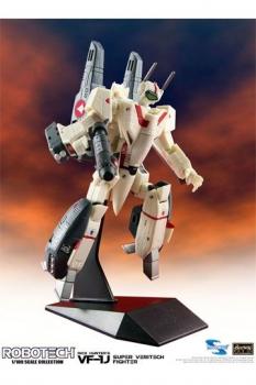 Robotech Super Veritech Fighter Collection Actionfigur 1/100 VF-1J Rick Hunter 15 cm